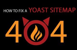yoast sitemap 404 fix
